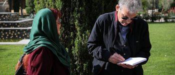 تصاویر) + مراسم تشییع پیکر ناصر چشم آذر(